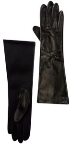 Vince Camuto Vince Camuto Double Belted Leather Gloves