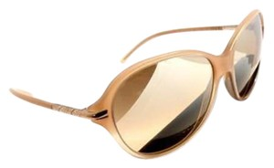 Burberry Beige Mirrored Burberry Sunglasses