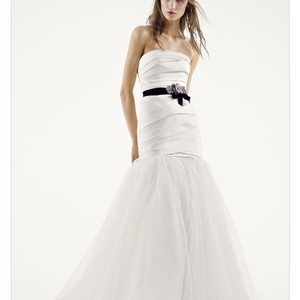 Vera Wang Bridal White By Vera Wang Fit And Flare Wedding Dress Wedding Dress