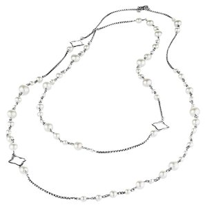 David Yurman David Yurman Pearl Chain Necklace