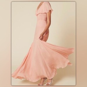 Reformation Pink Reformation Avery Dress Dress