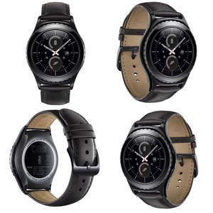 Samsung Samsung Gear 2 Watch, Leather Band, with Charging Dock