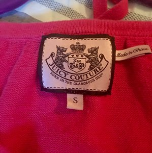 Juicy Couture Gold Hardware Bow Button Sweater