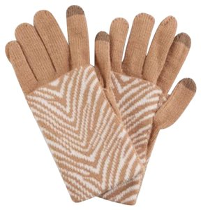 Vera Bradley 'Zebra Intarsia' Cozy Tech Gloves