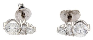 Hearts on Fire Hearts on Fire Triplicity 0.79ct Diamond Stud Earrings 18k White Gold
