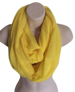 Other Bright Sunshine Yellow Infinity Scarf