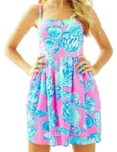 Lilly Pulitzer short dress Pink/Multicolored on Tradesy