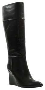 Tory Burch Wedge Black Boots