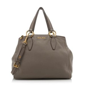 Miu Miu Satchel in Taupe