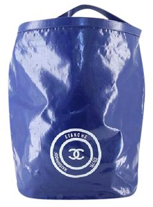 Chanel Waterproof Beach Jumbo Xl Tote in Blue