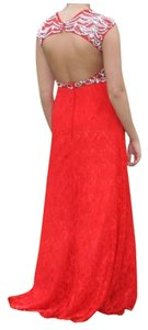 Red Lace Prom Dress Dress