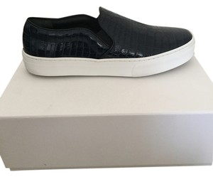 Céline Sneakers Crocodile Navy Blue Athletic