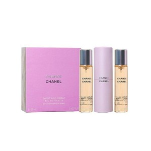 Chanel CHANEL CHANCE TWIST AND SPRAY 3 x 0.7 oz = 3 x 20 ml Eau De Toilette