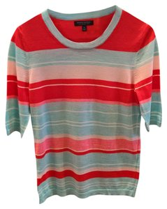 Banana Republic Top blue red pink white