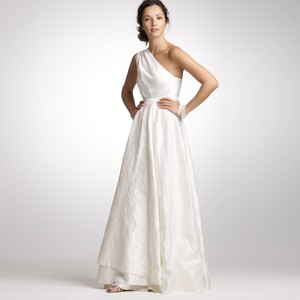 J.Crew Embossed Organza Sloan Gown Wedding Dress