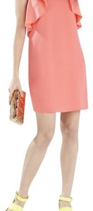 BCBGMAXAZRIA short dress peach pink on Tradesy