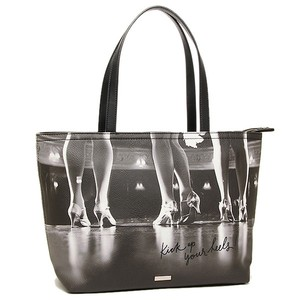 Kate Spade New York Shore Street Multi Black Tote in Gray