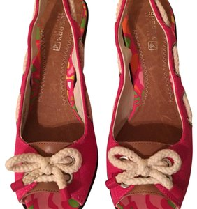 Sperry pink Wedges
