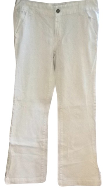 Calvin Klein Trouser/Wide Leg Jeans-Light Wash