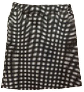 Ann Taylor Skirt Navy White