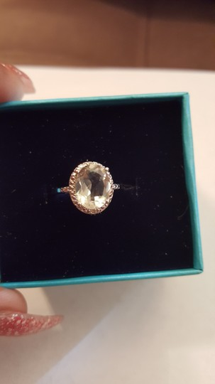 Xquisite by DESIGN GREEN AMETHYST STERLING SILVER RING Image 2