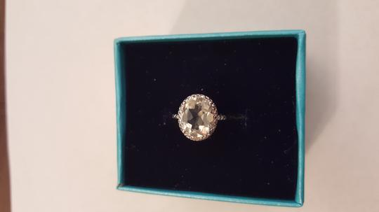 Xquisite by DESIGN GREEN AMETHYST STERLING SILVER RING Image 3