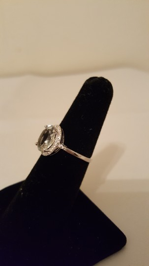 Xquisite by DESIGN GREEN AMETHYST STERLING SILVER RING Image 5