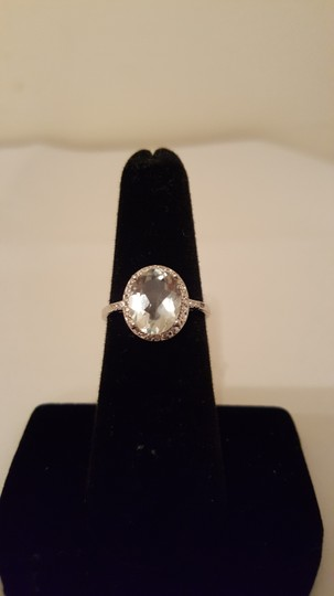 Xquisite by DESIGN GREEN AMETHYST STERLING SILVER RING Image 6