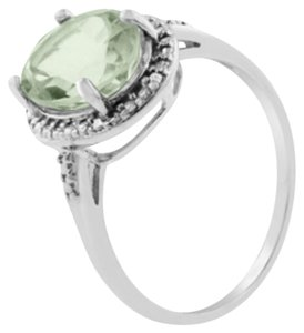 Other ** NWT ** GREEN AMETHYST ( 2.34 CT ) STERLING SILVER RING