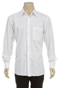 Ermenegildo Zenga Button Down Shirt White