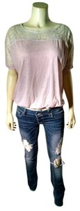 Full Tilt Size Small Top light pink