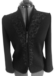 St. John Evening Embellished Jacket Cardigan