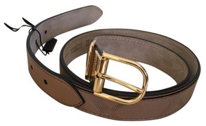 Burberry ewell check belt