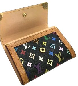 Louis Vuitton Louis Vuitton Multicolor Wallet Credit Card Holder 3061