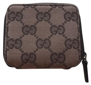 Gucci Wristlet in Brown and pink