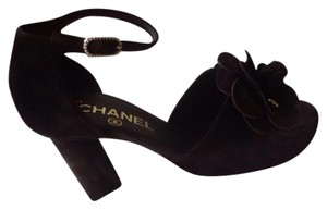 Chanel Chocolate Brown Sandals