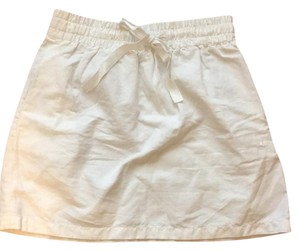 J.Crew Mini Skirt white