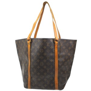 Louis Vuitton Luxury European Monogram Leather Tote