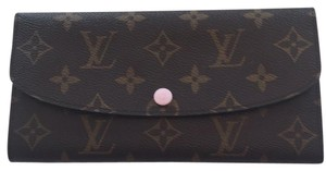 Louis Vuitton Emilie monogram rose Ballerine wallet