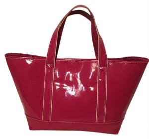 Lands' End Tote in Hot Pink