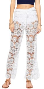 Gypsy05 Flare Pants white