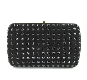 Gucci Broadway Suede Evening Black 8771 Clutch