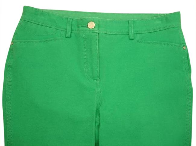 Item - Green So-slimming Girlfriend Ankle Straight Leg Jeans Size 35 (14, L)