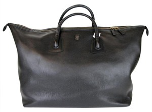 Gucci Unisex Large Leather Carry-on Black Travel Bag