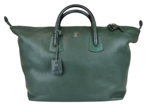Gucci Unisex Large Leather Carry-on Green Travel Bag