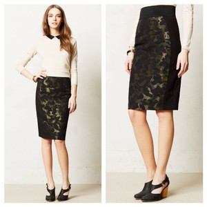 Other Skirt black green