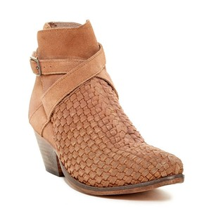 Free People Ankle Western Coachella Suede Bohemian Adobe Boots