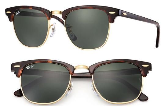 664f0382def Ray-Ban NEW RayBan RB3016 W0366 49mm Tortoise Brown Gold Green G-15