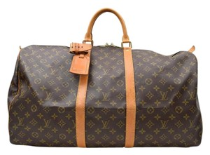 Louis Vuitton Vuitton Keepall 55 Vuitton Keepall Keepall 55 Vuitton Keepall Travel Bag