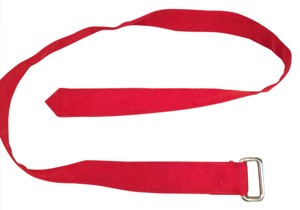 Club Monaco stylish red belt good for male and female